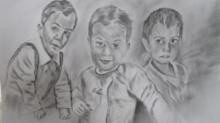 Adnan & Johny / Charcoal