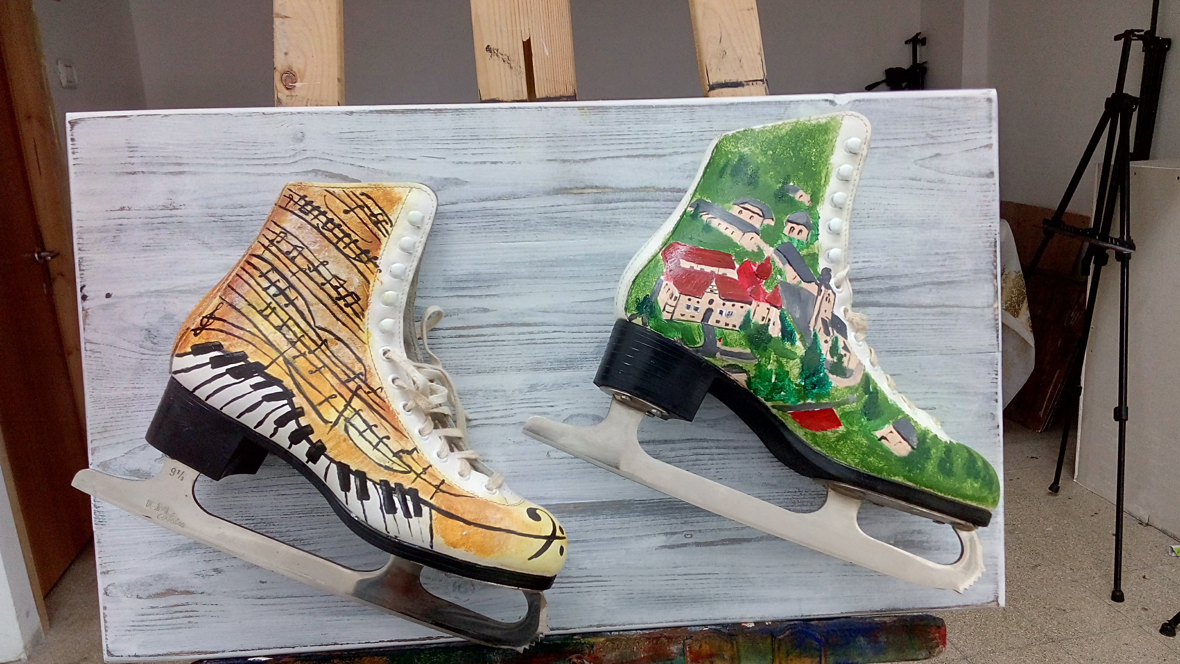 ice-skate private project